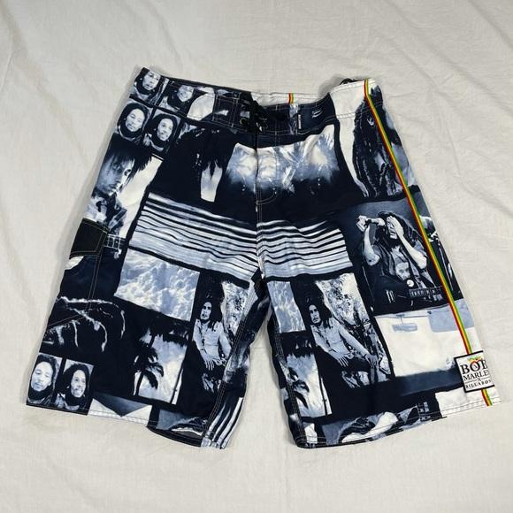 Billabong..Bob Marley swim shorts..size 38